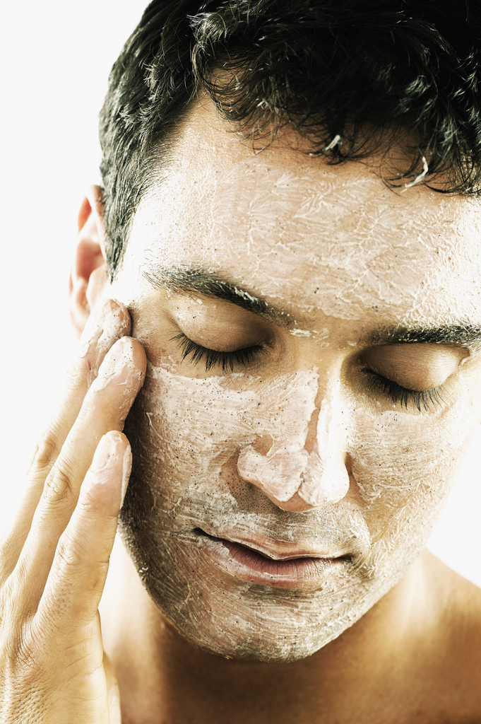 Is There Plastic in Your Your Facial Scrub?