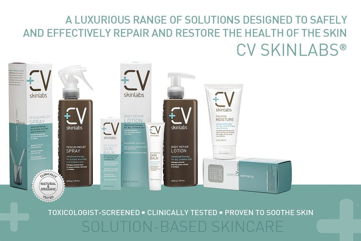 About CV Skinlabs: A luxurious range of solutions designed to safely and effectively repair and restore the health of the skin CV Skinlabs®