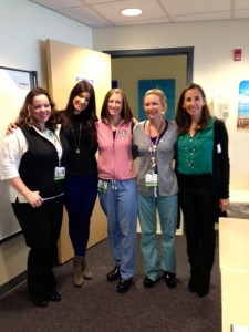 Britta with Nurses