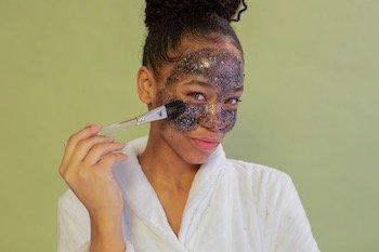 Exfoliate smooth skin